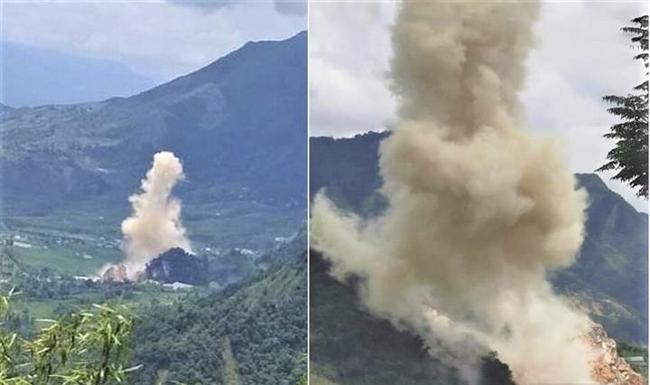 Nổ lớn ở Lai Châu, gần 60 hộ dân bị thiệt hại