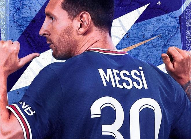 Áo đấu Messi được bán sạch bách chỉ sau 30 phút