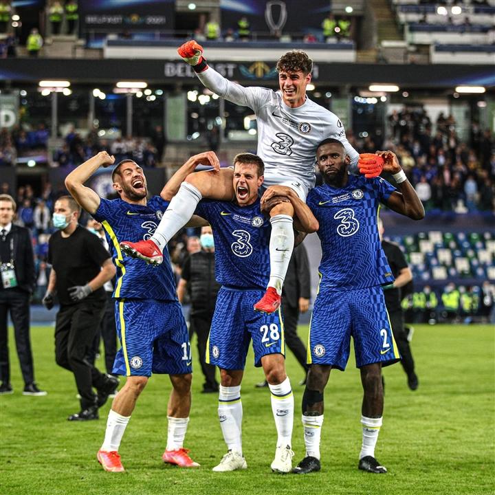 Sự tinh quái của thủ môn Kepa giúp Chelsea vô địch Siêu cúp châu Âu  - 5