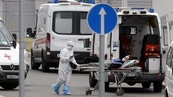 Số ca tử vong do COVID-19 tại Nga lại lập đỉnh