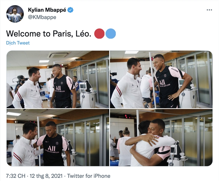 Mbappe đòi rời PSG, không muốn thi đấu cùng Messi - 2