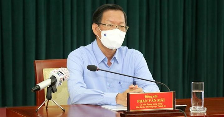 Ông Phan Văn Mãi: TP.HCM tiếp tục thực hiện Chỉ thị 16 sau ngày 15/8