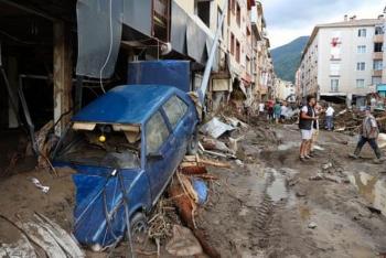 Lũ lụt kinh hoàng ở Thổ Nhĩ Kỳ, 38 người chết