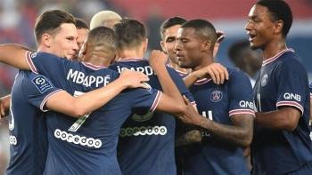 Messi, Neymar ngồi ngoài, PSG trút mưa bàn thắng ở Ligue 1