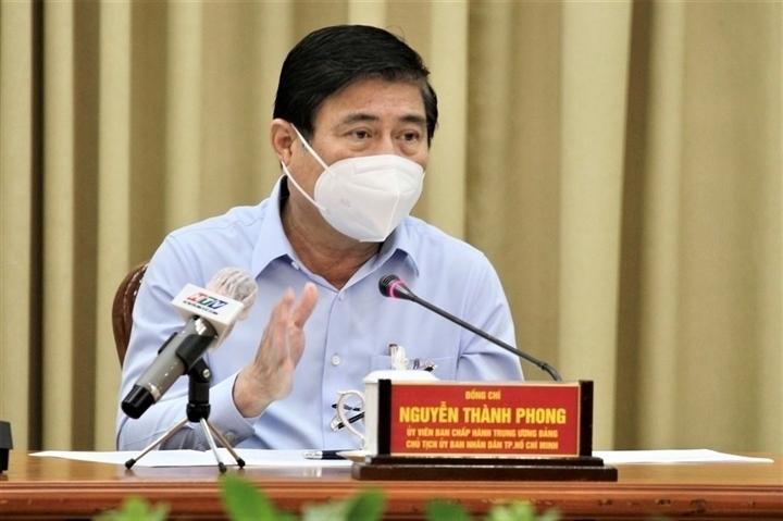 Chủ tịch Nguyễn Thành Phong:  Số ca nhiễm tại TP.HCM giảm 18% - 1