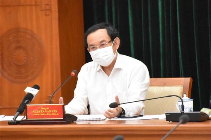 Bí thư Nguyễn Văn Nên: 'Hơn 2 tháng rồi, chúng ta thèm 1 ngày không có COVID-19' - 1