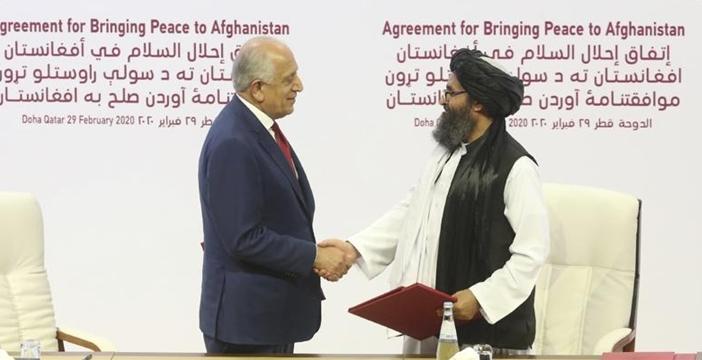 """Di sản """"thoả thuận Doha"""" với Taliban của Trump tạo thảm bại cho Afghanistan?"""