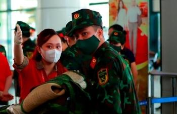 Vietjet tăng cường các chuyến bay vận chuyển nhân lực y tế