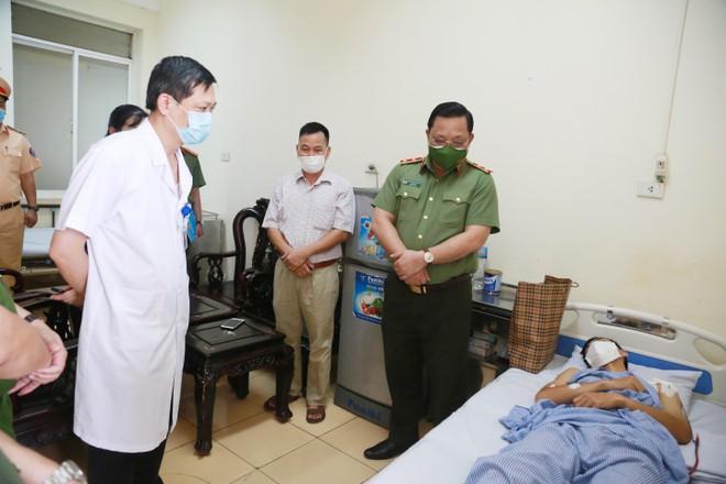 3 đồng chí hy sinh và hơn 1.000 cán bộ, chiến sỹ Công an nhiễm Sars-cov-2 khi tham gia phòng, chống dịch ảnh 3