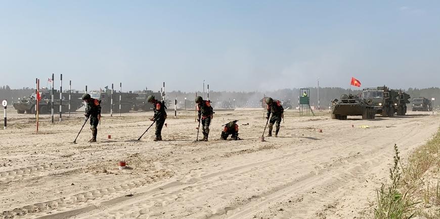 Tuyển Công binh Việt Nam vào chung kết Army Games