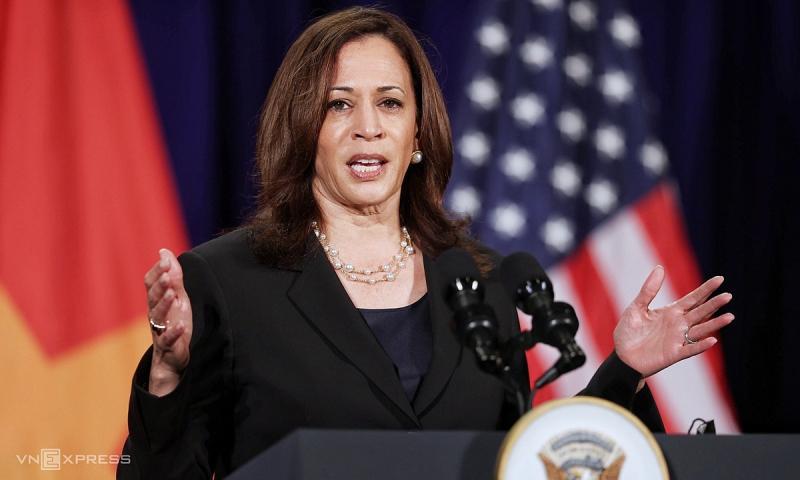 Những tuyên bố ấn tượng của Phó Tổng thống Mỹ Kamala Harris tại Việt Nam