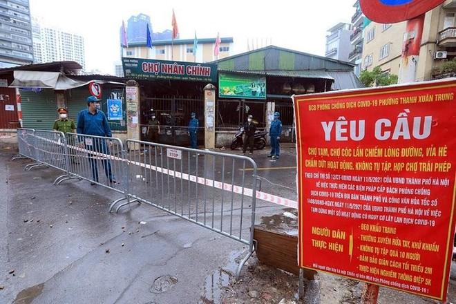 Sáng 27-8, Hà Nội thêm 6 ca Covid-19 mới, ổ dịch tại Thanh Xuân đã lên 112 ca ảnh 1