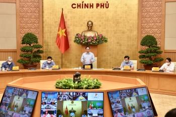 Thủ tướng chủ trì họp trực tuyến về phòng chống dịch với 1.060 xã, phường tại 20 tỉnh, thánh phố
