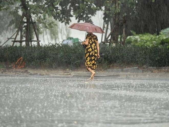 Thời tiết ngày 31/8: Bắc Bộ mưa to, trời dịu mát