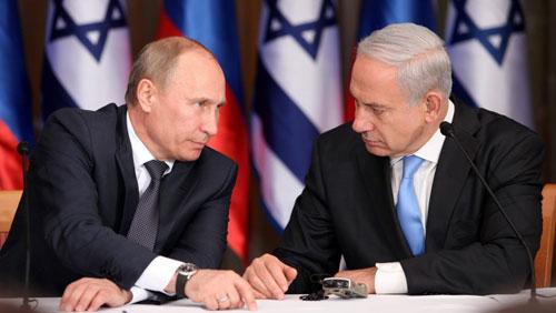 ly do putin diu giong voi israel sau vu trinh sat co bi ban roi
