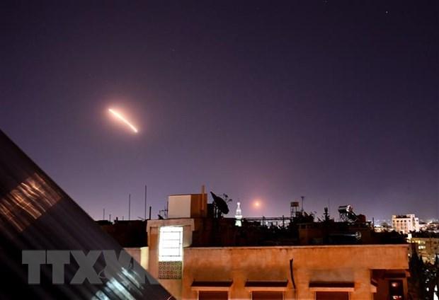 israel tan cong ten lua vao syria khien 9 nguoi thuong vong
