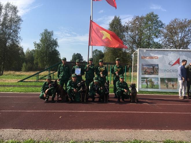 doi huan luyen cho nghiep vu doat nhieu giai thuong tai army games 2020