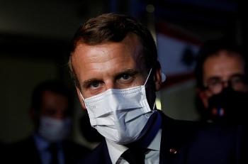 Tổng thống Pháp lại đến Lebanon