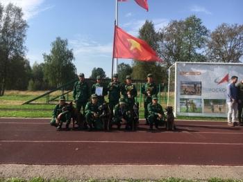 Đội huấn luyện chó nghiệp vụ đoạt nhiều giải thưởng tại Army Games 2020