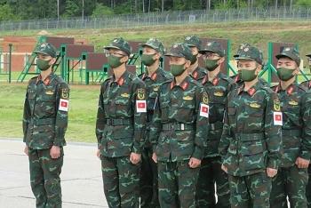 Cập nhật thứ hạng Việt Nam tại Army Games 2020 ngày 1.9