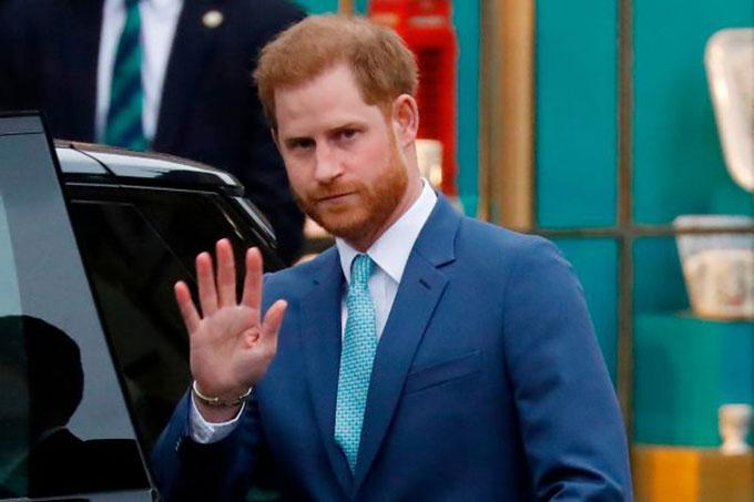 Hoàng tử Harry - cháu nội của Nữ hoàng Anh Elizabeth II. Ảnh: AFP.