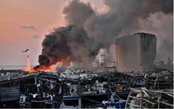 Thống kê thiệt hại mới nhất sau vụ nổ ở Beirut