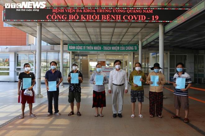 42/96 bệnh nhân ở Quảng Nam khỏi COVID-19 - 1