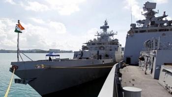 Hải quân Nga và Ấn Độ tiến hành tập trận trên Vịnh Bengal
