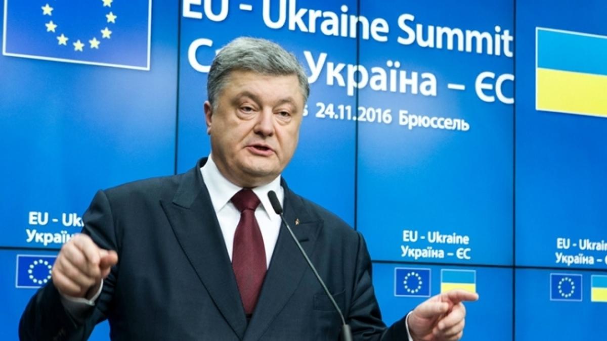 Cựu Tổng thống Ukraine Petro Poroshenko nằm trong danh sách trừng phạt của Nga. Ảnh: ITN