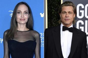 Phản ứng của Angelina khi Brad Pitt đưa bồ trẻ về nhà riêng ở Pháp