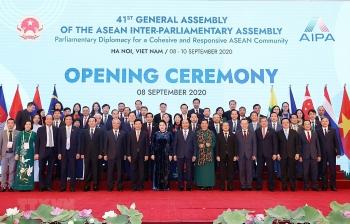 Khai mạc trọng thể Đại Hội đồng Liên nghị viện ASEAN lần thứ 41