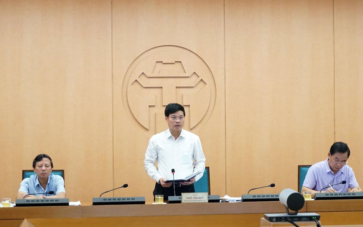 Phó Chủ tịch TP Hà Nội Ngô Văn Quý yêu cầu quán bar, karaoke dừng hoạt động đến hết dịch