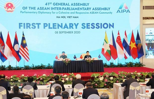 Doan ket, hop tac lang gieng la muc tieu hang dau cua AIPA va ASEAN hinh anh 1