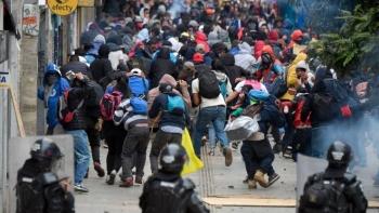 Biểu tình chống cảnh sát tại Colombia, gần 150 người thương vong