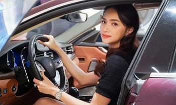 Hương Giang mua xe hơn 8 tỷ đồng