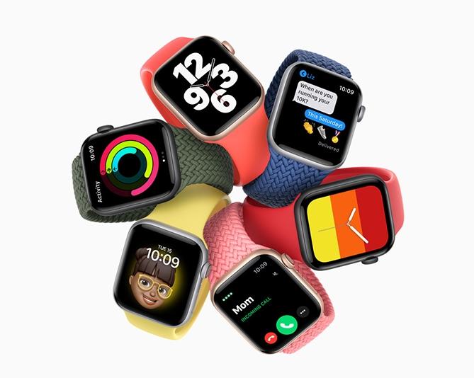 apple watch series 6 ra mat voi mau do moi