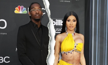 Cardi B ly hôn rapper Offset
