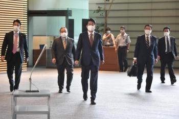 Thủ tướng Nhật Bản Shinzo Abe cùng nội các từ chức
