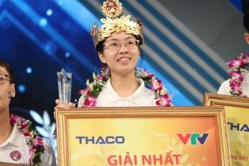 Nữ sinh Ninh Bình xuất sắc giành quán quân Olympia năm thứ 20