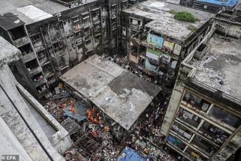 Ít nhất 13 người thiệt mạng và 25 người mắc kẹt vì sập nhà ở Ấn Độ