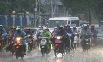Thời tiết hôm nay 29/9: Cả nước có mưa dông
