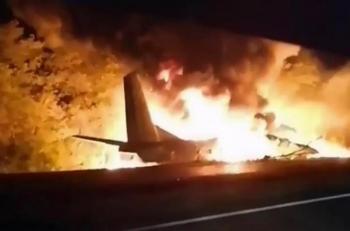 Máy bay quân sự Ukraine gặp nạn, 22 người chết
