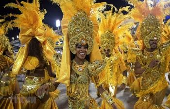 brazil lan dau tien khong to chuc le hoi carnival rio de janeiro