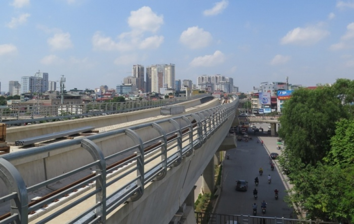 Đường sắt Nhổn - Ga Hà Nội mục tiêu dự án là khai thác trước đoạn trên cao vào tháng 4/2021 và toàn tuyến vào quý IV/2022.