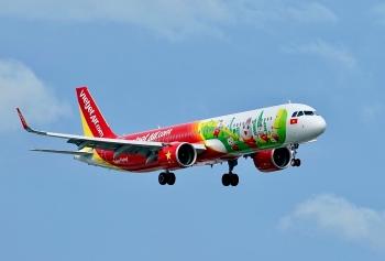Những chuyến bay thương mại đầu tiên tới Hàn Quốc của Vietjet