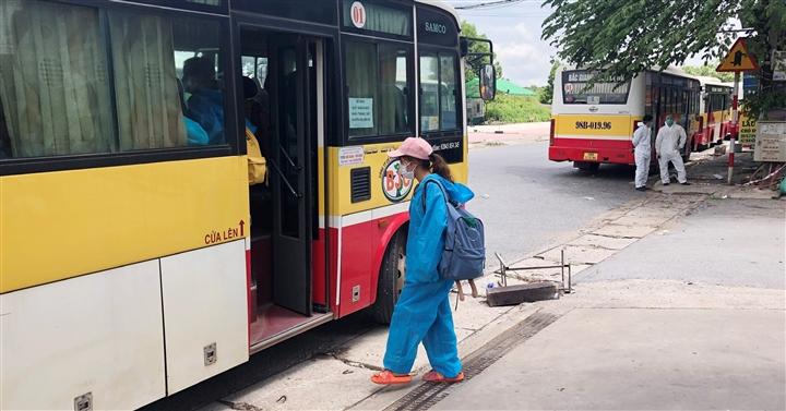Bắc Giang đón 618 công dân ở TP.HCM, Đồng Nai, Bình Dương về quê bằng máy bay