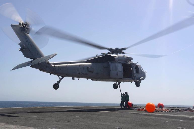 Trực thăng quân sự Mỹ rơi, toàn bộ phi hành đoàn tử nạn