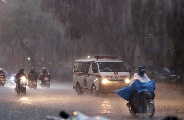 Cả nước mưa lớn, cảnh báo mưa đá, gió giật mạnh ở Tây Nguyên và Nam Bộ