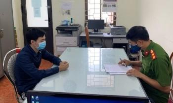 Nam thanh niên 'phân phối' hàng trăm phiếu xét nghiệm SARS-CoV-2 giả