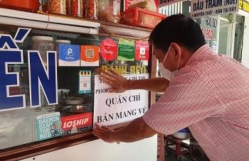 TP.HCM cho phép quán ăn mở cửa từ 6h đến 18h, chỉ bán mang về